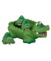 Kinder bad speelgoed krokodillen