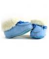 Babypantoffels babyblauw