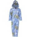 Blauwe onesie kinder joggingpak Frozen