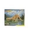 Bouwpakket hout Apathosaurus