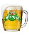 Decoratie bord biertje 49 cm