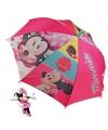 Disney Minnie Mouse paraplu roze