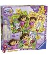 Kinder puzzels Dora 3 in 1