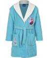Frozen badjas kinderen blauw met wit