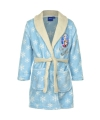 Frozen badjas kinderen lichtblauw