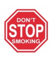 Fun stopbordje do not stop smoking