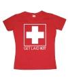Feest shirt Get Laid Kit dames
