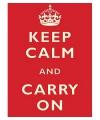 Nostalgische reclame borden Keep Calm