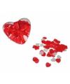 Valentijn hart confetti voor in bad