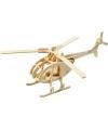 Houten helicopter 3Dpuzzel