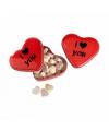 I love you valentijns blikje snoep