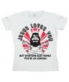 Feest shirt Jesus Loves You dames