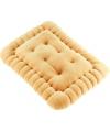 Kussen in de vorm van een koekje