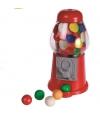 Rode kleine kaugomballen automaat 13 cm