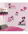 Set Muurstickers Minnie Mouse