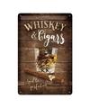 Molesworth st Rochdale Muurdecoratie Whisky 20 x 30 cm
