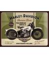 Muurplaatje Harley Davidson 30 x 40 cm