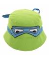 Ninja Turtle groene hoedjes van katoen