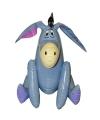 Opblaasbare blauwe ezel 46 cm