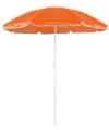 Oranje parasols van nylon