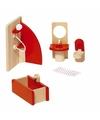 Speelgoed meubeltjes badkamer voor poppenhuis