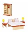 Speelgoed meubeltjes slaapkamer voor poppenhuis