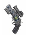 Lichtgelevend ruimte pistool met geluid