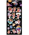 Dora thema stickers