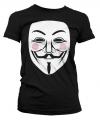 Feest shirt V for Vendetta dames