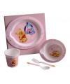 Winnie de Pooh kadoset servies roze